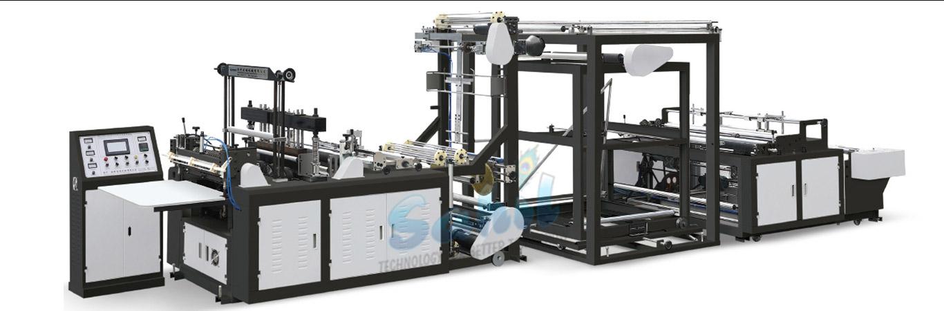 Non-woven-fabric-bag-making-machine