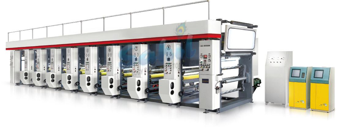 High Speed Computer Rotogravure Printing Machine