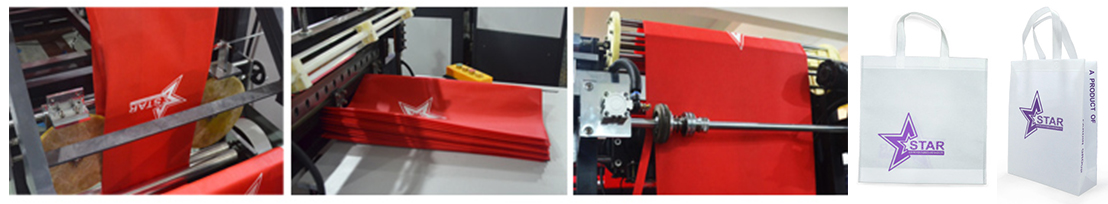 High speed non woven bag making machine manufacturing process