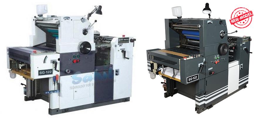 single 1 colour non woven bag printing machine