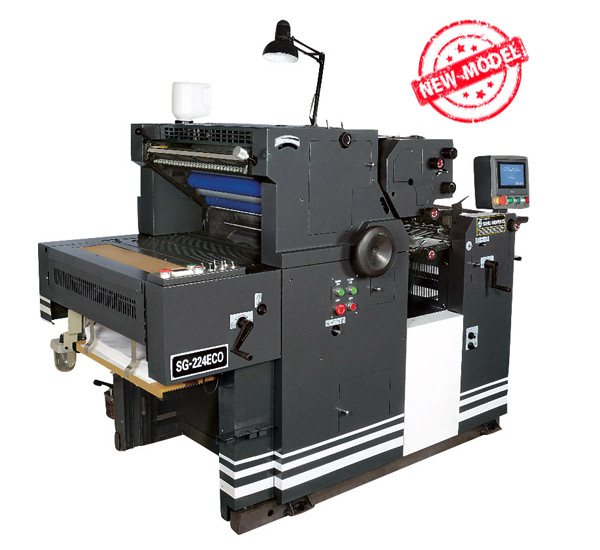Two 2 Colour Satellite Model Non Woven Bag Printing Machine