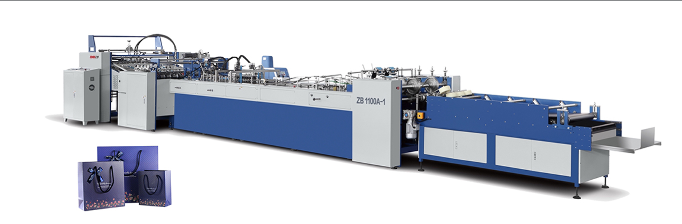 Fully automatic paper carry bag making machine