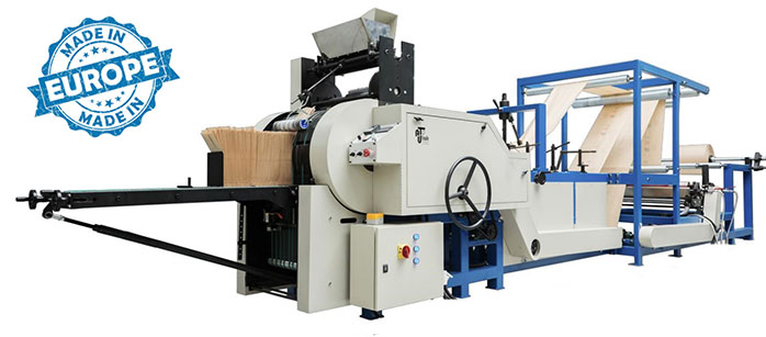 Fully automatic paper bag making machine bag maker 700