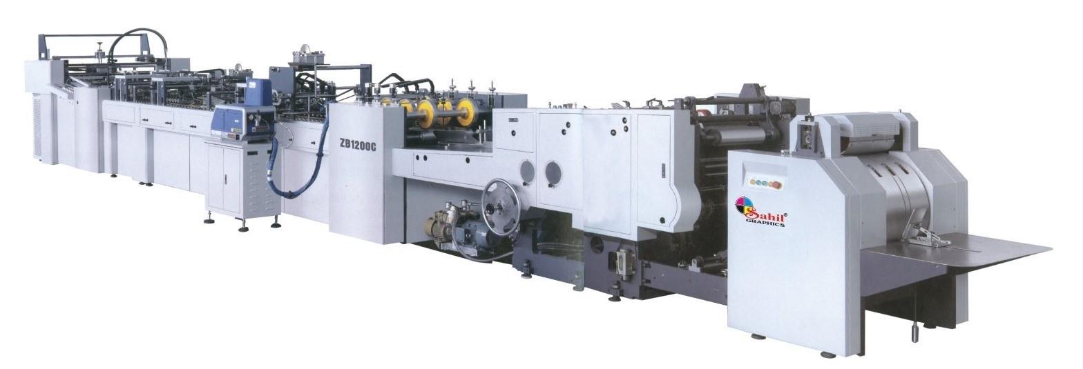 Sheet feeding Paper Bag Making Machine SG 1200C-430