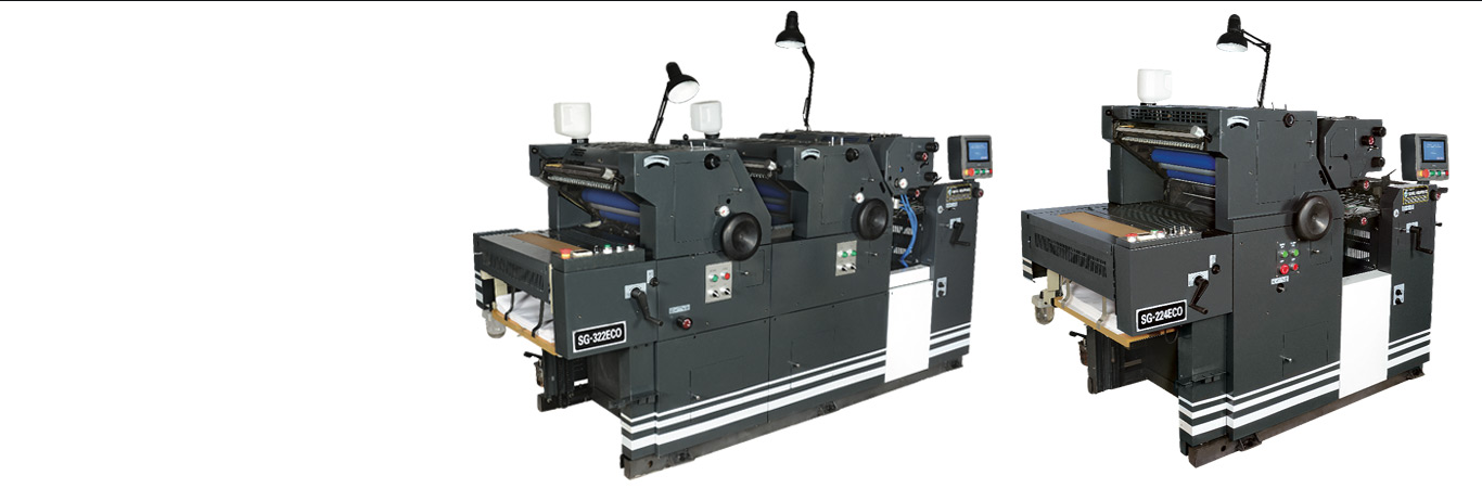 Two and four colour non woven bag printing machine